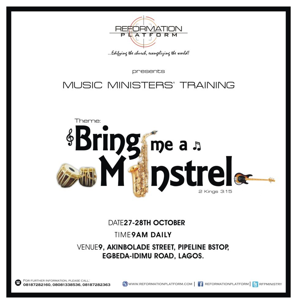music ministers training
