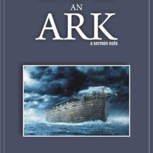 build me an ark