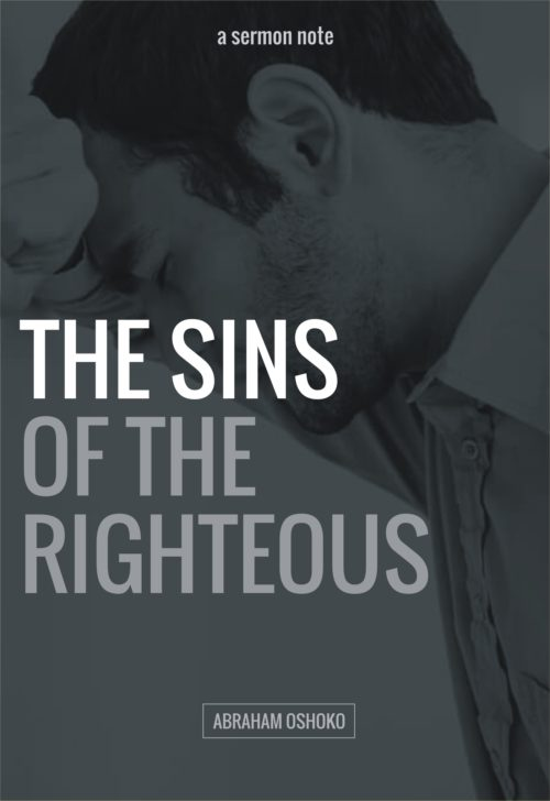 02 SINS OF THE RIGHTEOUS