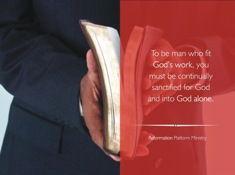 the man that fits god's work