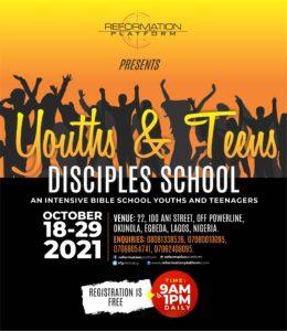JUNIOR DISCIPLESHIP SCHOOL